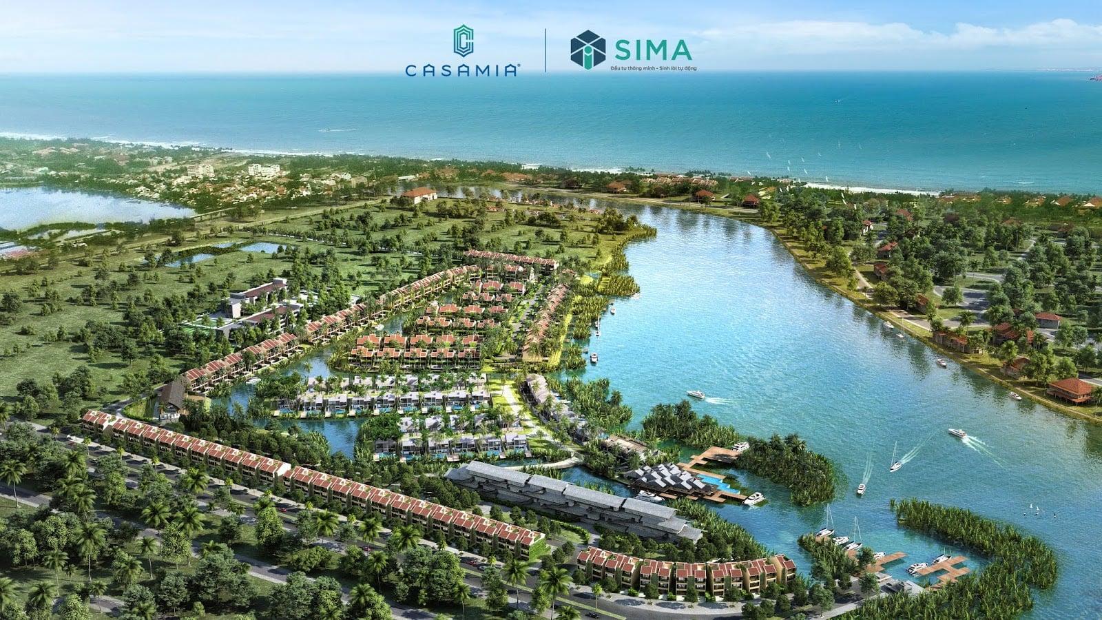 Phối cảnh dự án biệt thự Casamia Hội An tỉnh Đà Nẵng