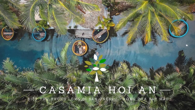 Biệt thự Casamia Hội An tọa lạc trong khu rừng dừa Bày Mầu nổi tiếng