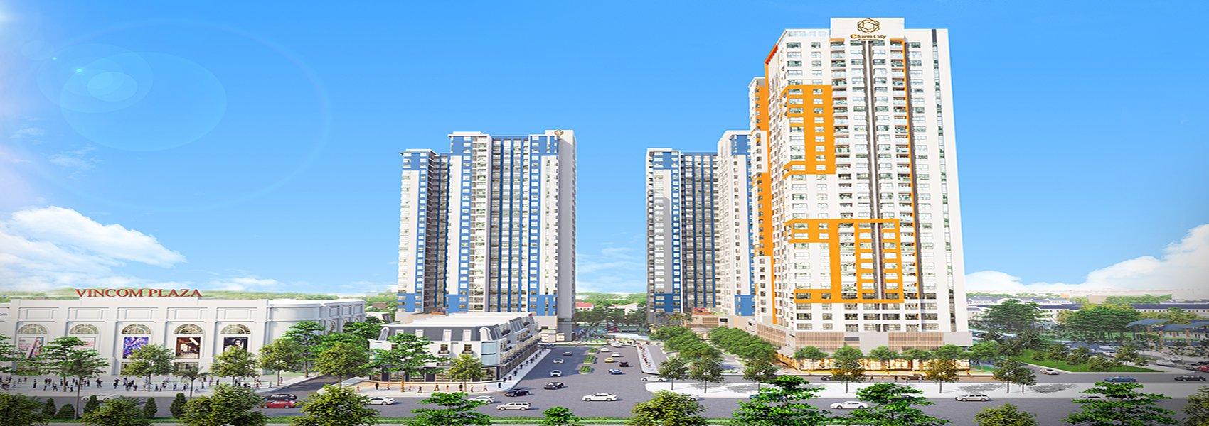 Phối cảnh dự án căn hộ Charm City Dĩ An Tỉnh Bình Dương