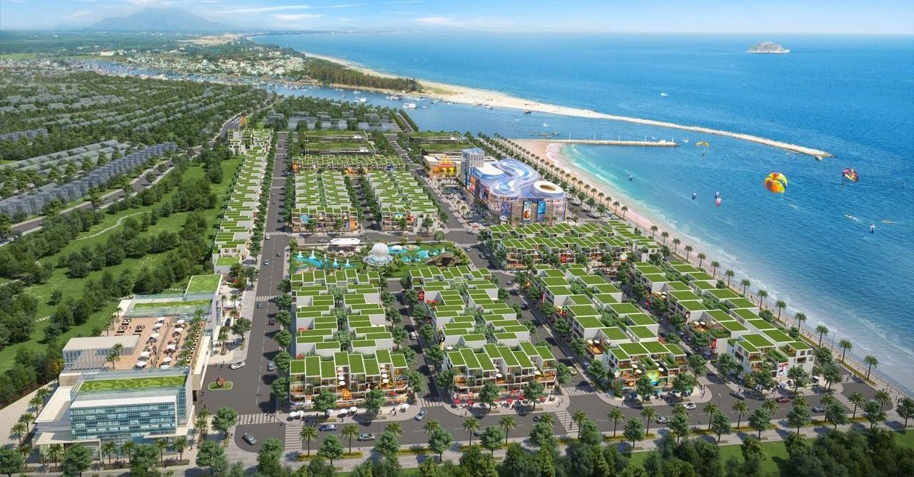 du an Queen Pearl Marina Complex view bien - DỰ ÁN QUEEN PEARL MARINA COMPLEX LAGI BÌNH THUẬN