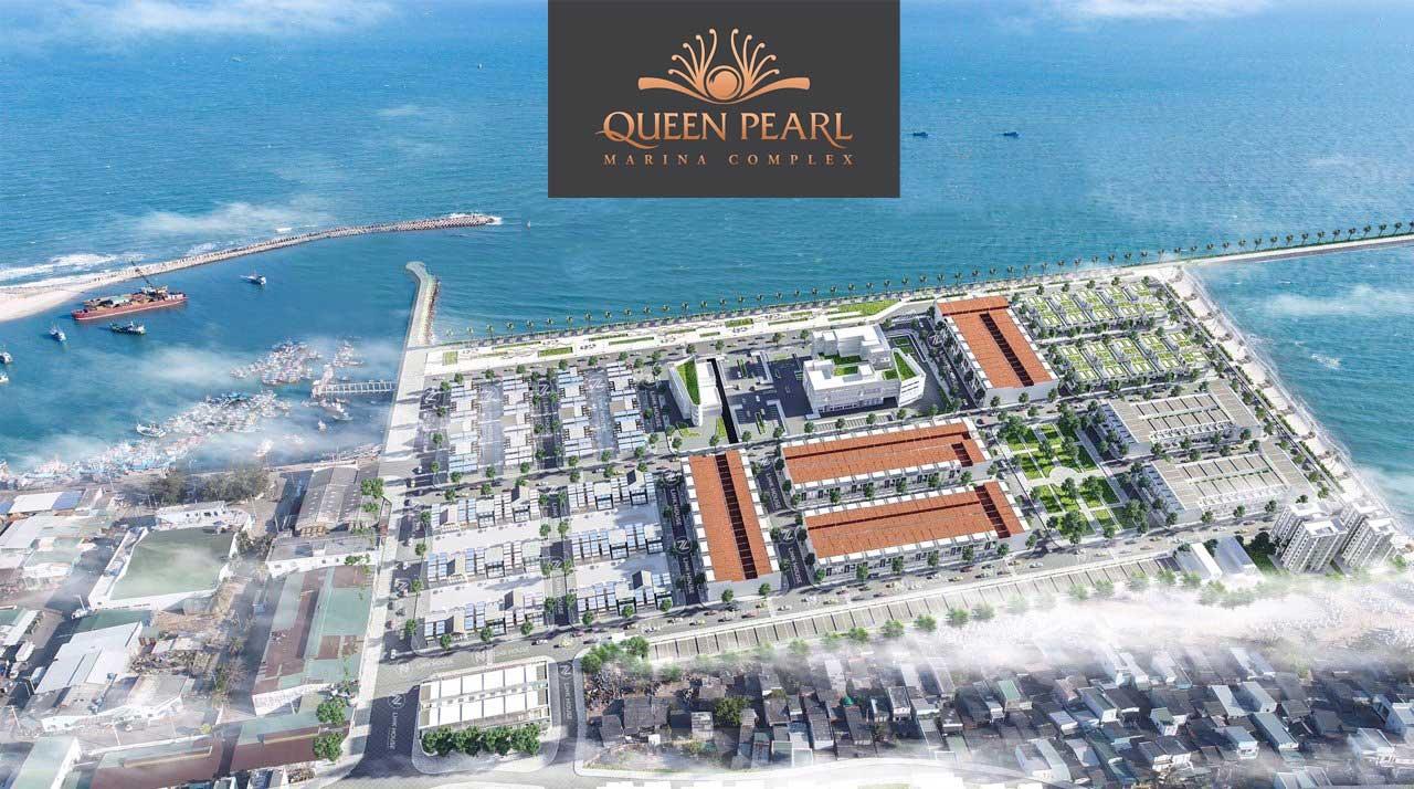 Phối cảnh dự án Queen Pearl Marina Complex Lagi Bình Thuận