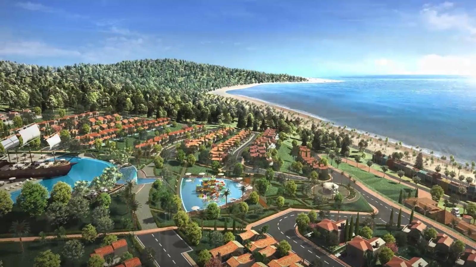 Phối cảnh dự án Novahills Mũi Né Resort & Villas