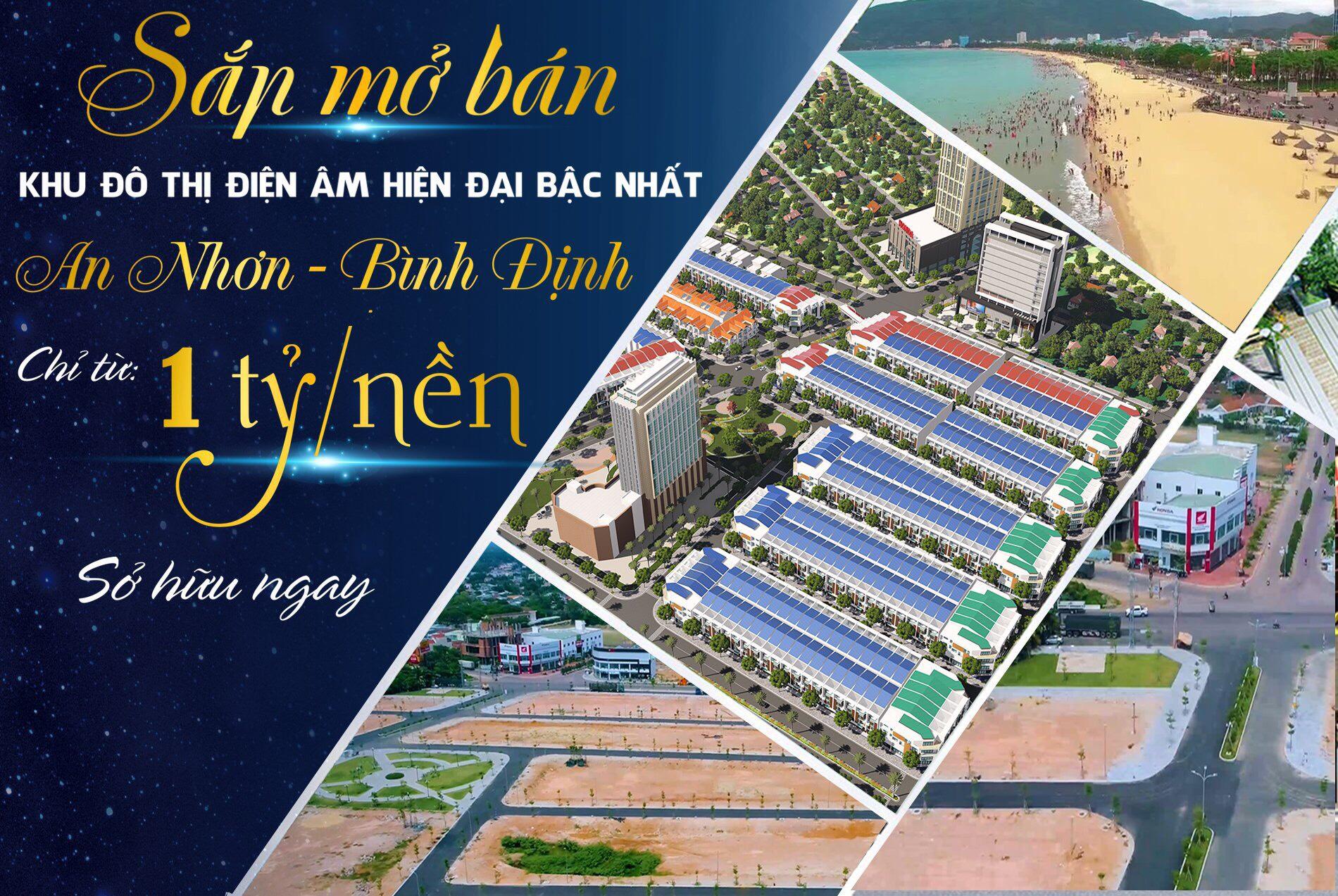 Quy Nhơn New City thức tỉnh bất động sản An Nhơn, Bình Định
