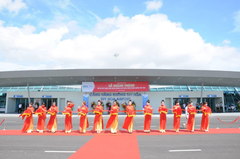 Sân bay Tuy Hòa - Ảnh resviet.vn