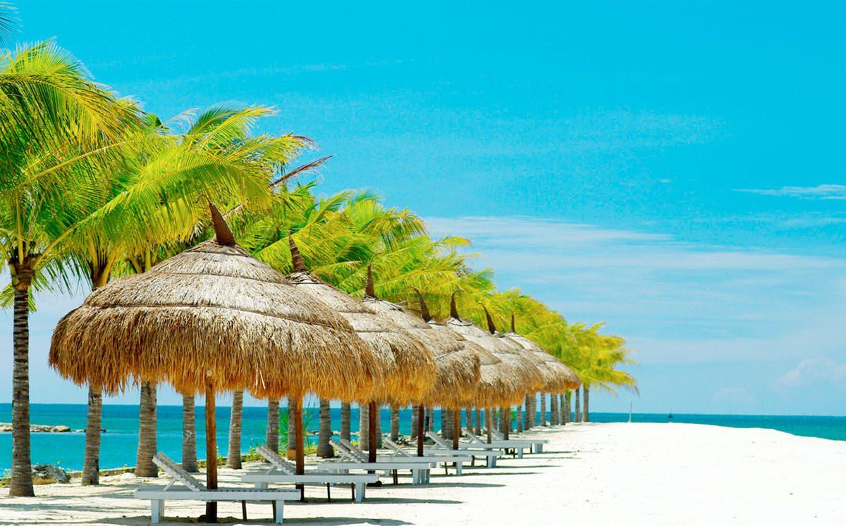 Bãi biển đẹp tại khu nghĩ dưỡng Sunshine Diamond Nha Trang