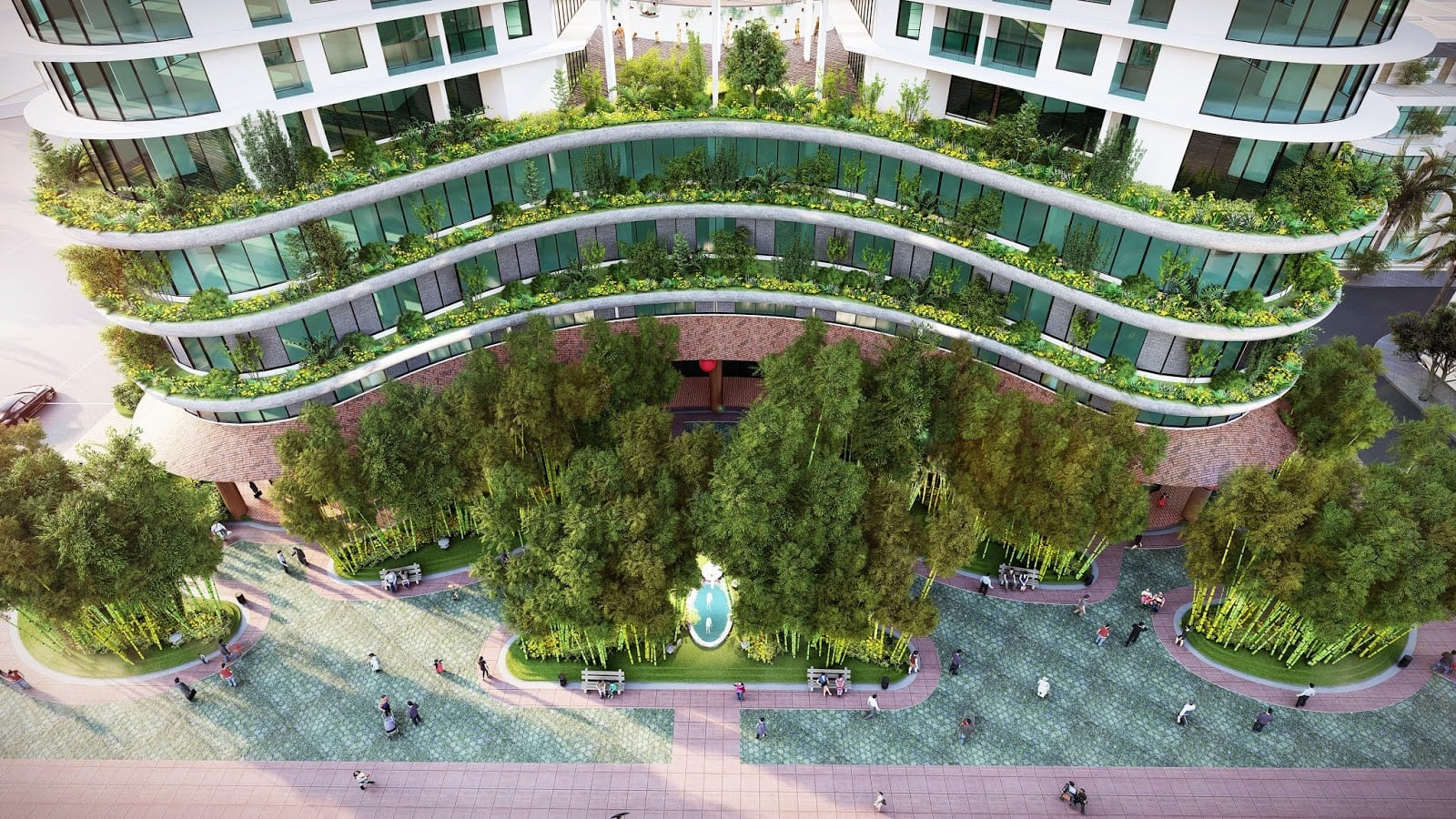 Hệ thống tiện ích chuẩn 5 sao tại khu dự án condotel Apec Mandala Wyndham Garden