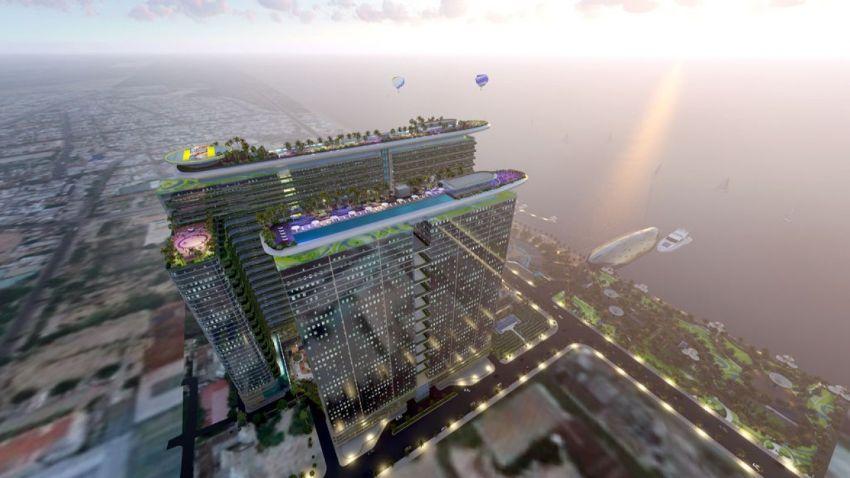 Mỗi căn hộ của dự án Sunshine Marina Bay đều được thiết kế mở và tầm nhìn cực kỳ thoáng rộng