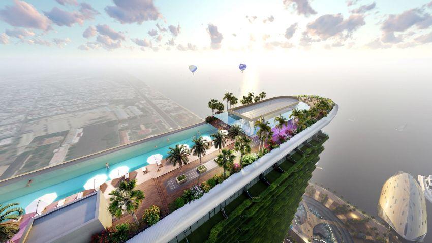 Sunshine Marina Bay Nha Trang được thiết kế mang hình dáng của một du thuyền