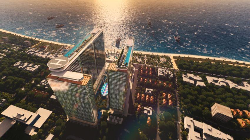 phoi canh sunshine marina nha trang bay - Tiềm năng đầu tư của Sunshine Marina Bay Nha Trang