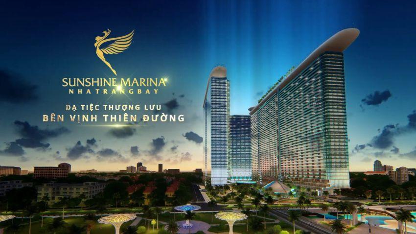 Sunshine Marina Bay Nha Trang có vị trí đắc địa
