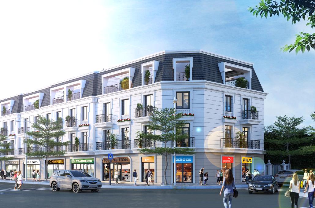 Thiết kế Shophouse