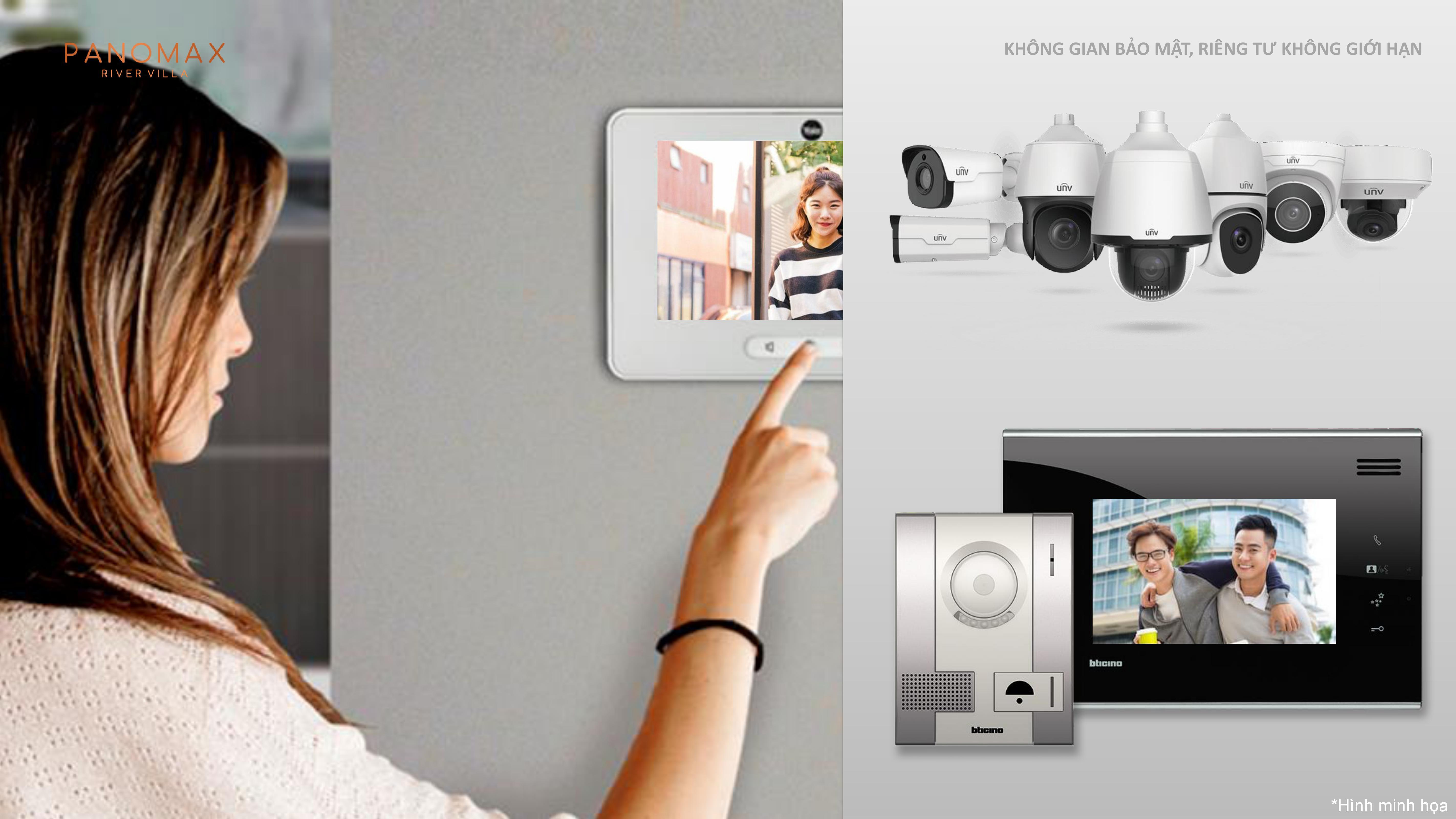 Video Doorphone tại dự án Panomax River Villa Quận 7