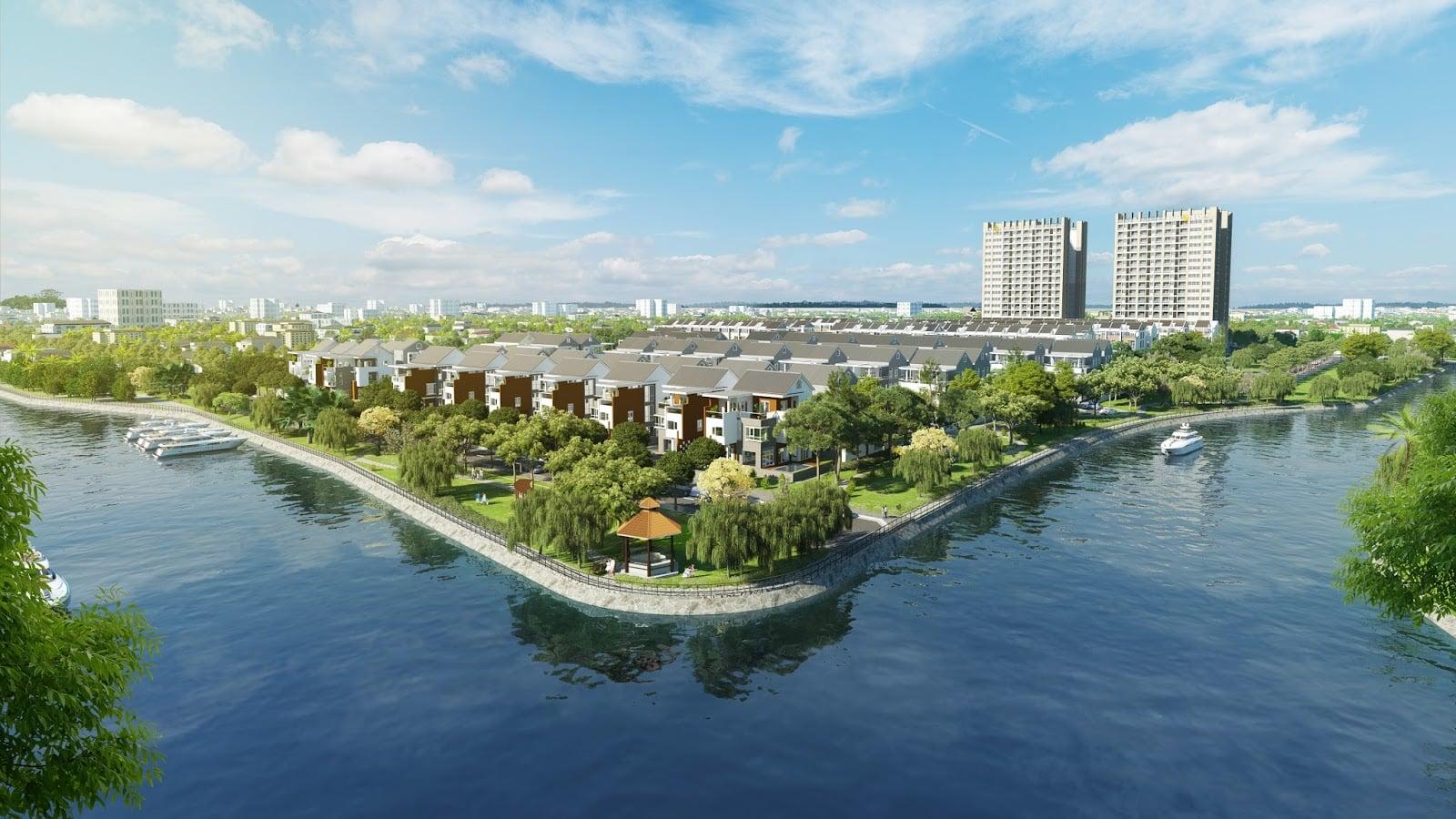 Phối cảnh dự án đất nền Phú Thịnh Center City