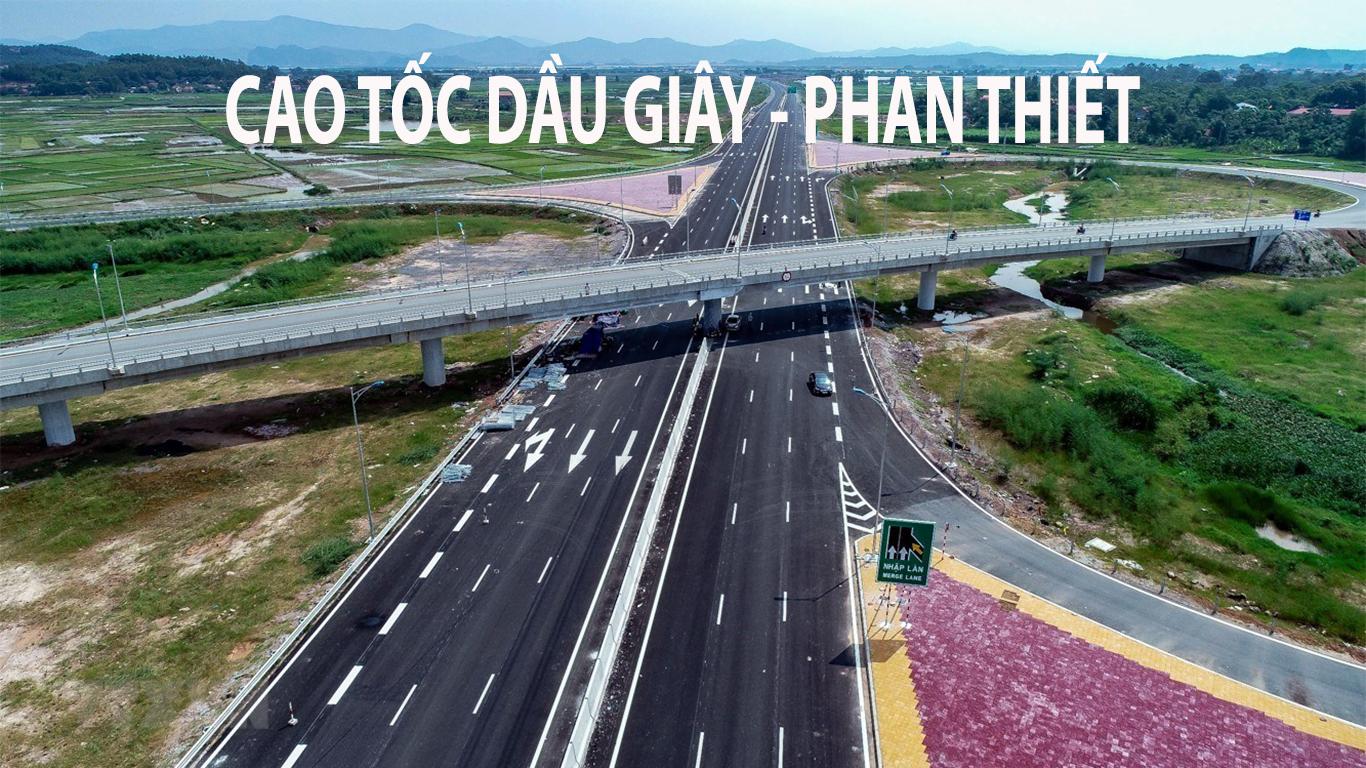 Dự án cao tốc Phan Thiết - Dầu Giây dự kiến khởi công cuối năm 2020
