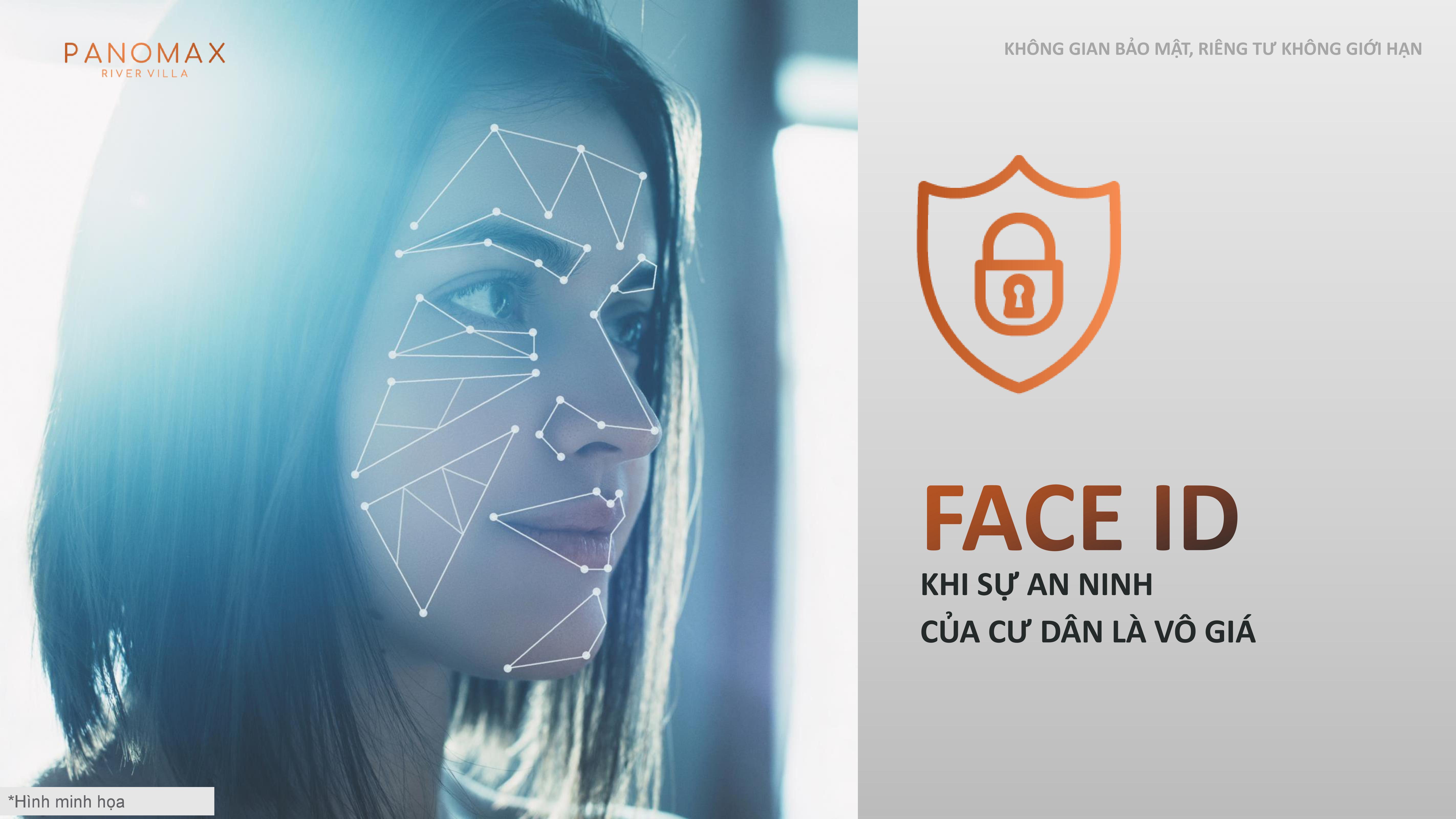 Áp dụng công nghệ Face ID