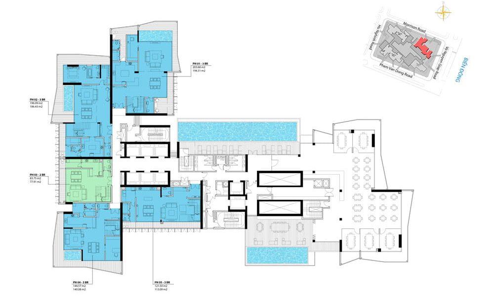 penthouse 47 Wyndham Soleil e1572345234277 - DỰ ÁN WYNDHAM SOLEIL ĐÀ NẴNG