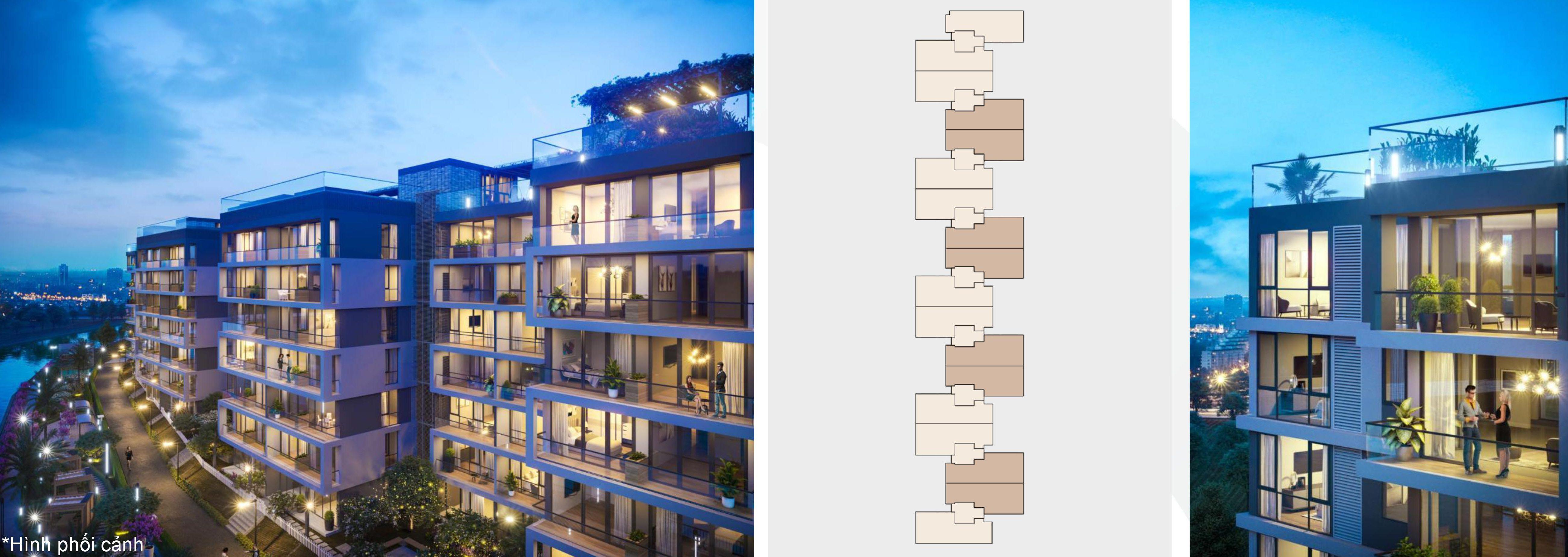 100 căn hộ Panomax Quận 7 là căn góc