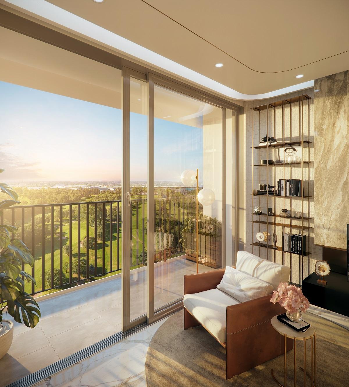 Vị trí căn hộ Opal Skyline Bình Dương