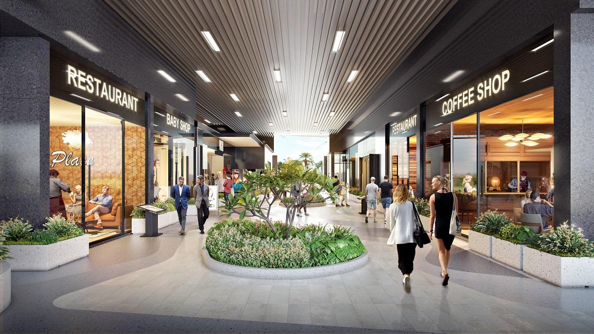 Shopping Bazzar khu thương mại - OPAL SKYLINE