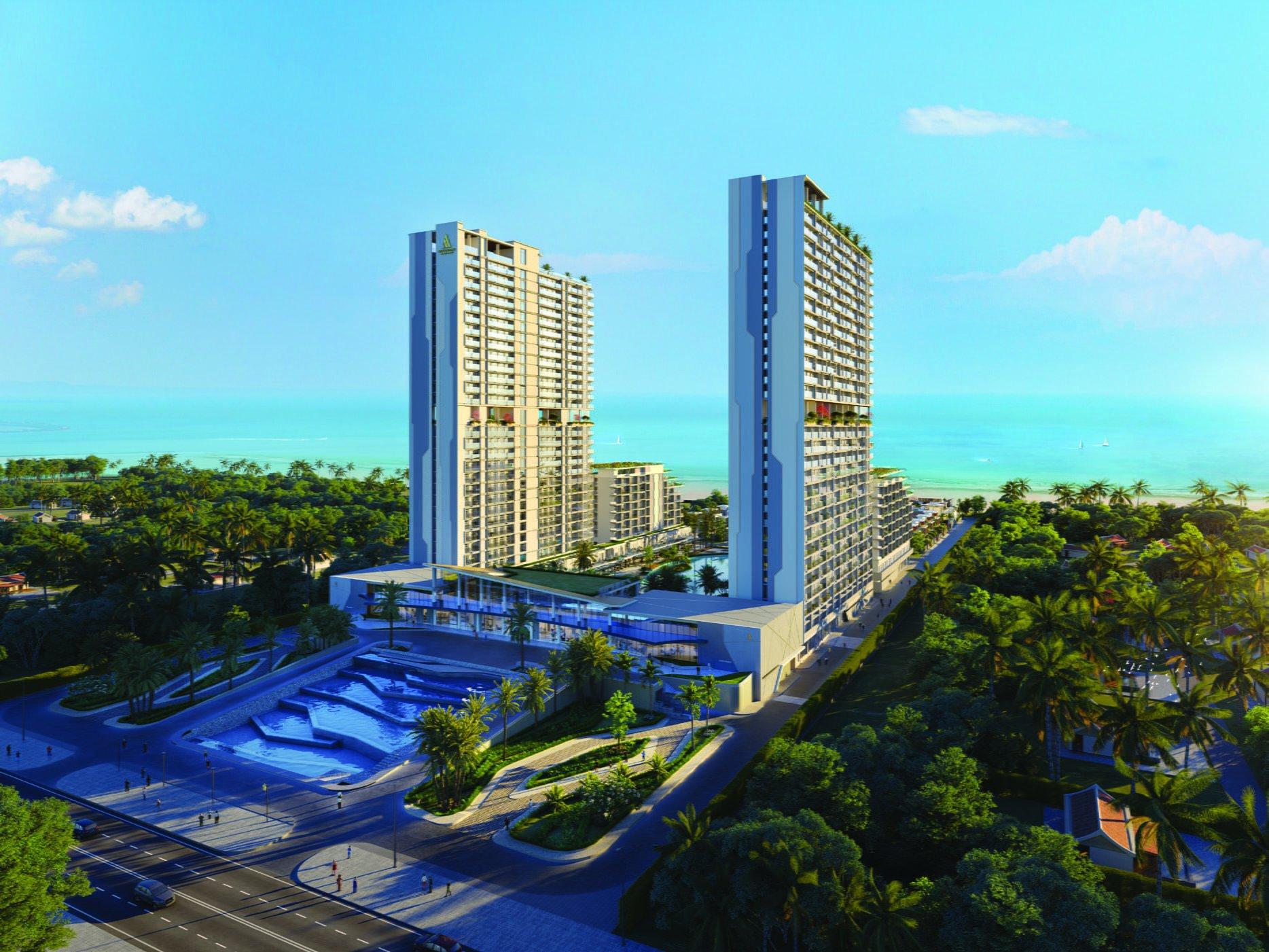 Phối cảnh dự án condotel Aria Đà Nẵng Hotel & Resort