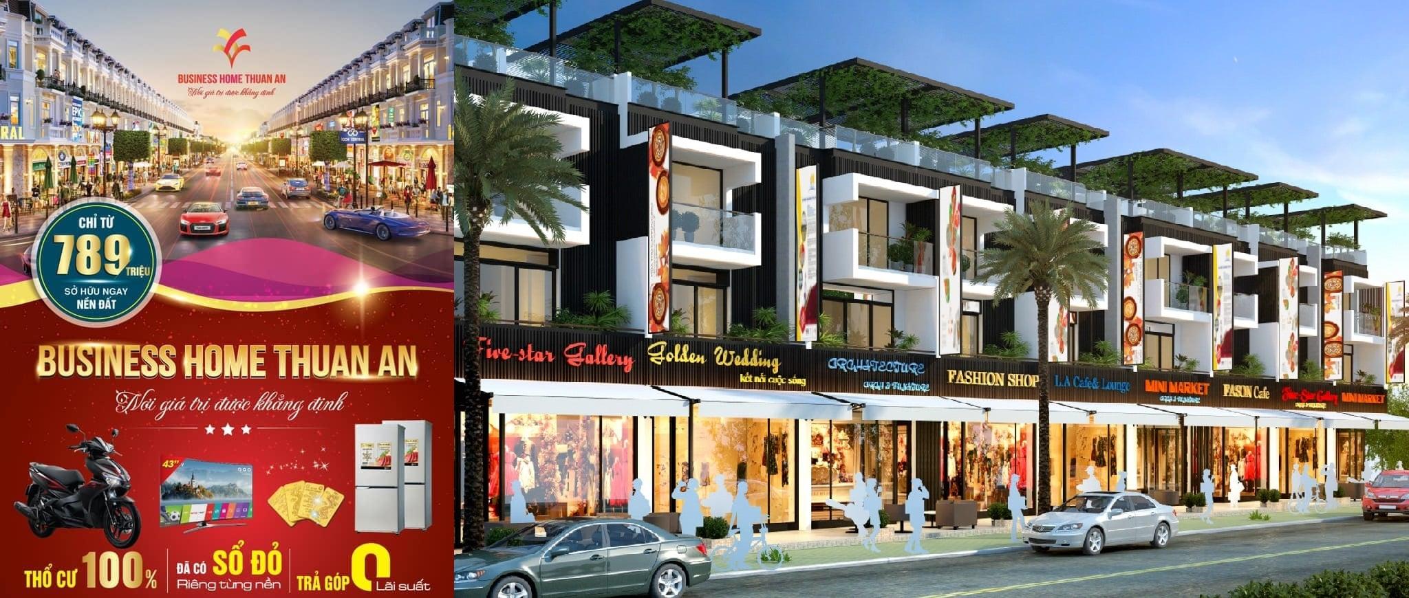 Giá bán dự án Business Home Thuận An Bình Dương
