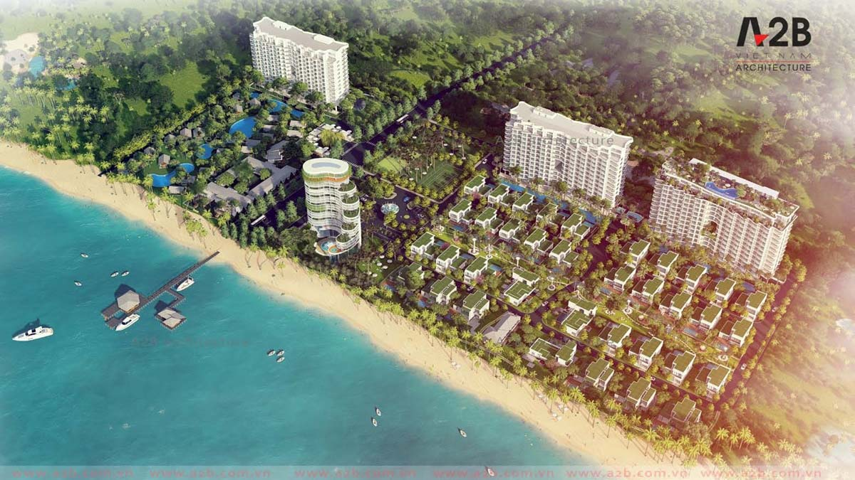 Phối cảnh dự án condotel Aria Vũng Tàu Hotel & Resort