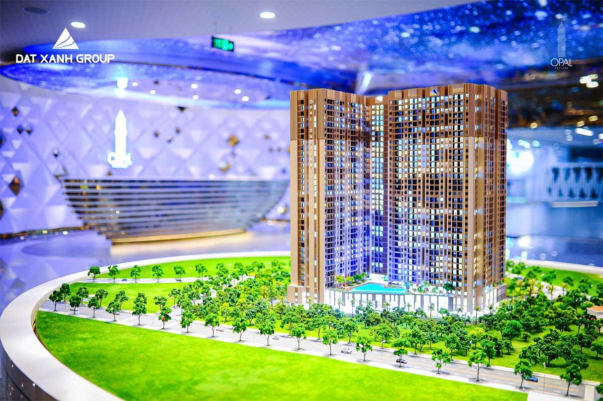 Dự án căn hộ Opal Skyline Đất Xanh Bình Dương