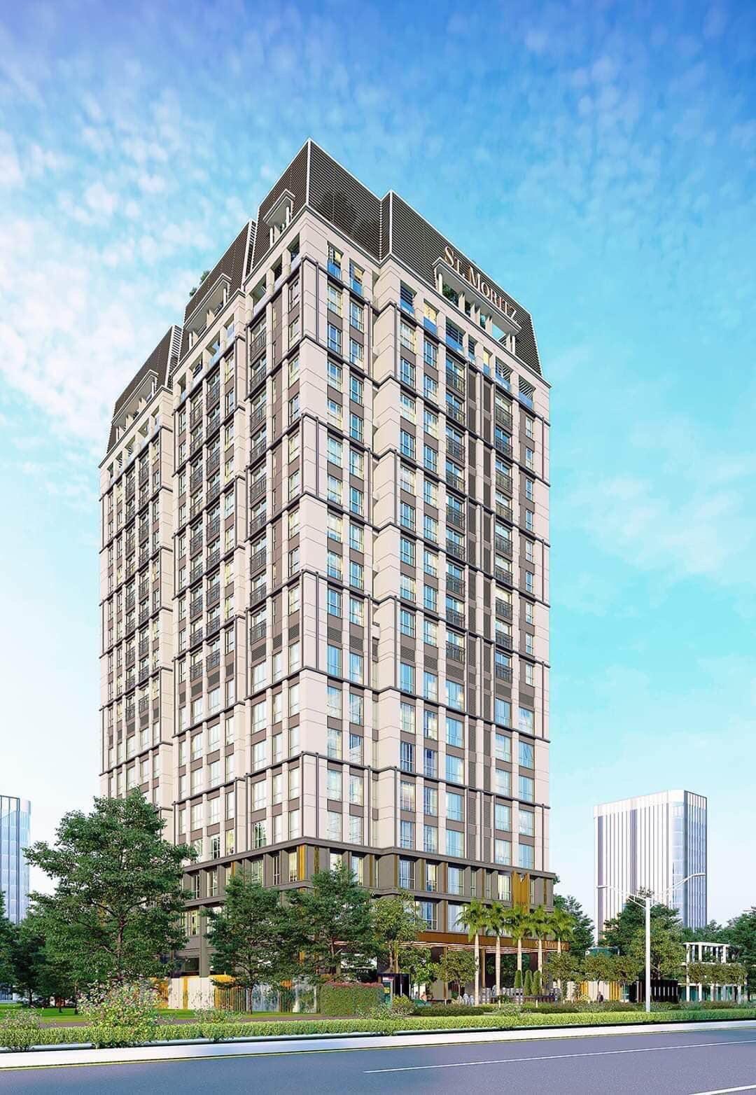 Dự án căn hộ ST Moritz Đất Xanh Phạm Văn Đồng