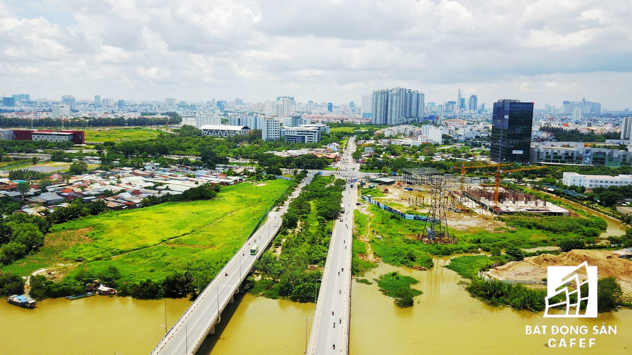 Hạ tầng giao thông phát triển tại Quận 7 và khu Nam Sài Gòn