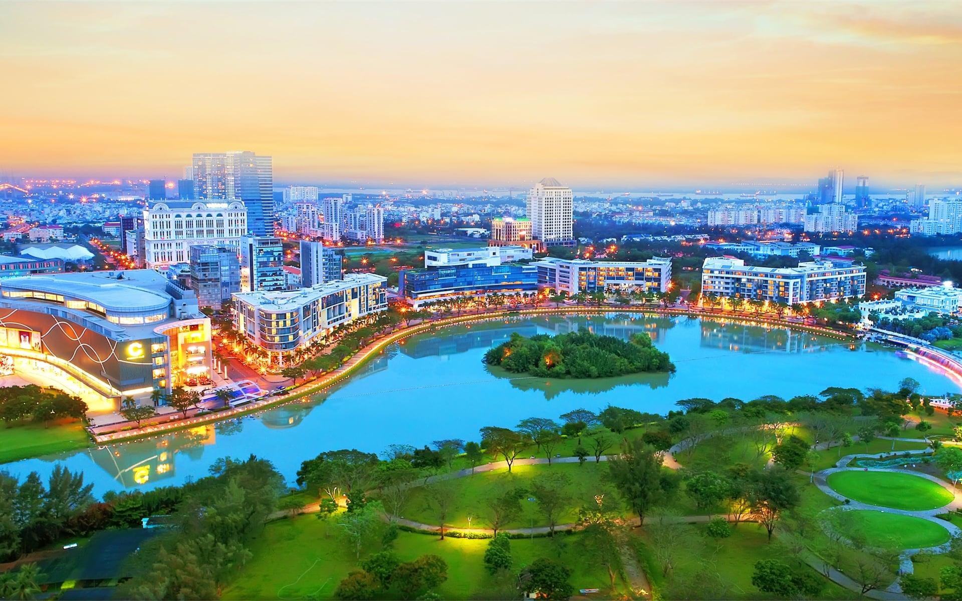 Tiện ích khu đô thị Phú Mỹ Hưng