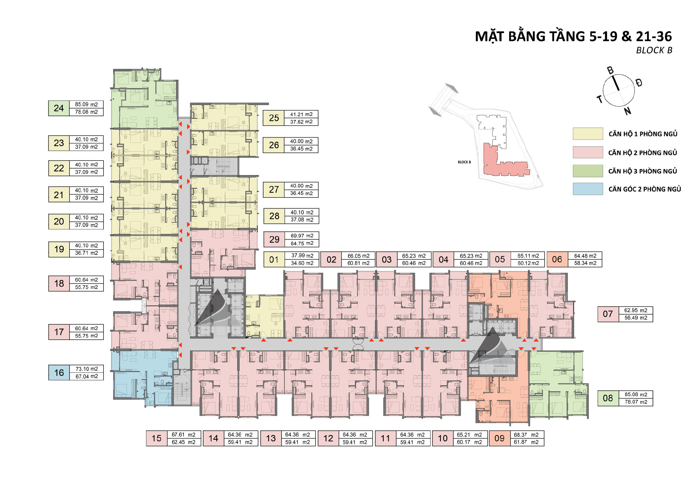 mat bang tang opal skyline block b tang 5 19 tang 21 36 - OPAL SKYLINE