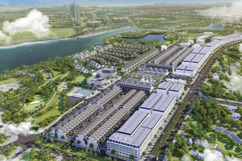 Phối cảnh dự án đất nền One World Regency Quảng Nam