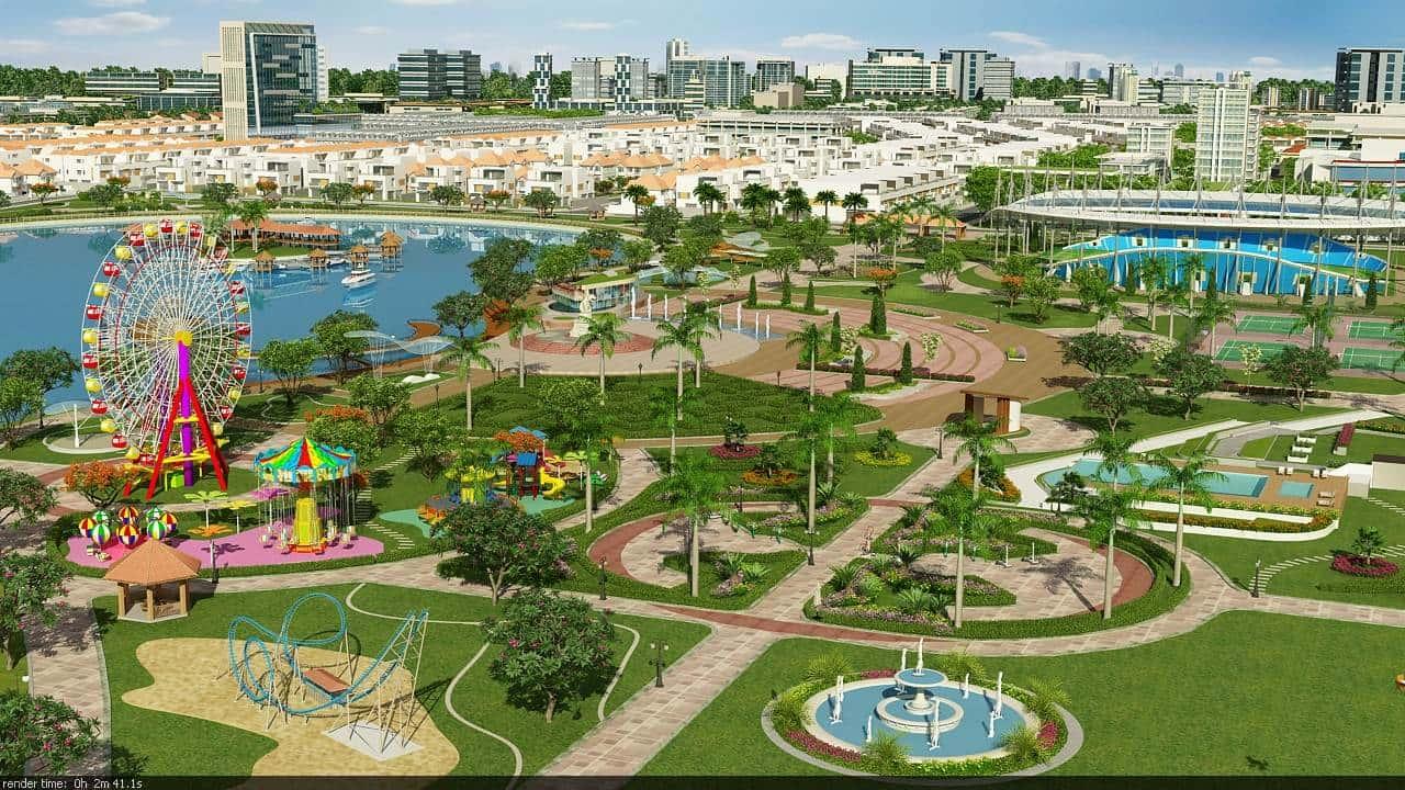 Dự án Đông Tăng Long hiện diện trong khu vực có tiện ích hiện đại