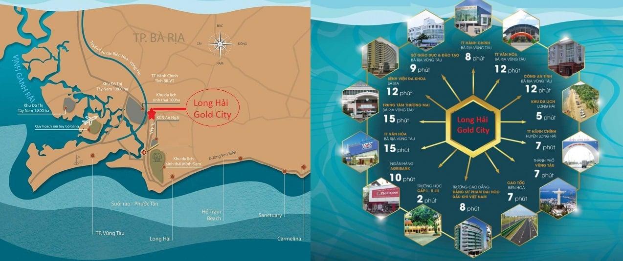 vi tri long hai new city - DỰ ÁN ĐẤT NỀN LONG HẢI GOLD CITY LONG ĐIỀN BÀ RỊA VŨNG TÀU