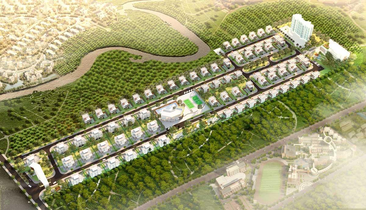 Mặt bằng Dự án The LakeView Villa Phú Mỹ Bà Rịa Vũng Tàu