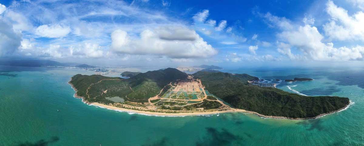 Tiện ích giáp biển Dự án Khu Đô Thị Hải Giang Merry Land Quy Nhơn
