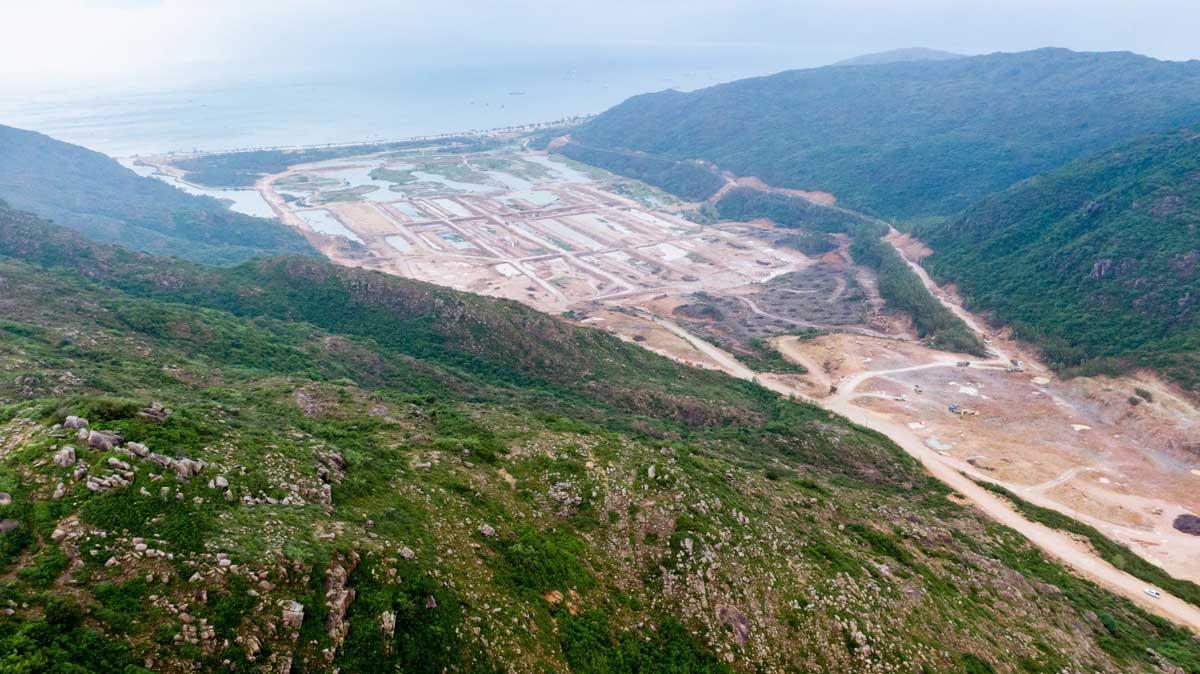 Mặt bằng Dự án Khu Đô Thị Hải Giang Merry Land Quy Nhơn