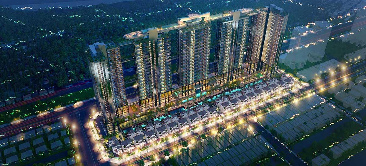 Phối cảnh dự án căn hộ Sunshine Continenal Tô Hiến Thành Quận 10