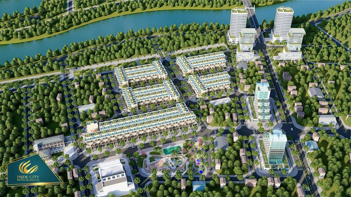 Phối cảnh dự án Pride City Quảng Nam