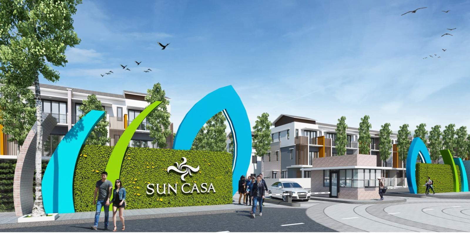 Sun Casa central 01 - DỰ ÁN NHÀ PHỐ SUN CASA CENTRAL THỦ DẦU MỘT BÌNH DƯƠNG