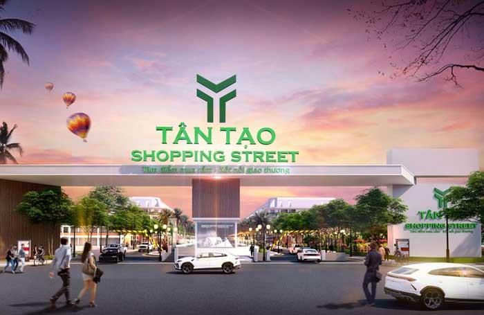 du an tan tao shopping street - DỰ ÁN ĐẤT NỀN TÂN TẠO SHOPPING STREET LONG AN