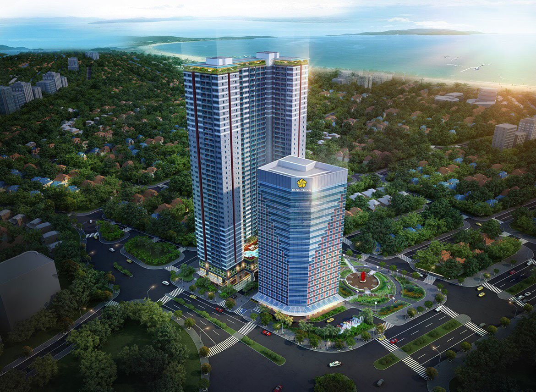 Phối cảnh căn hộ Grand Center Quy Nhơn Hưng Thịnh