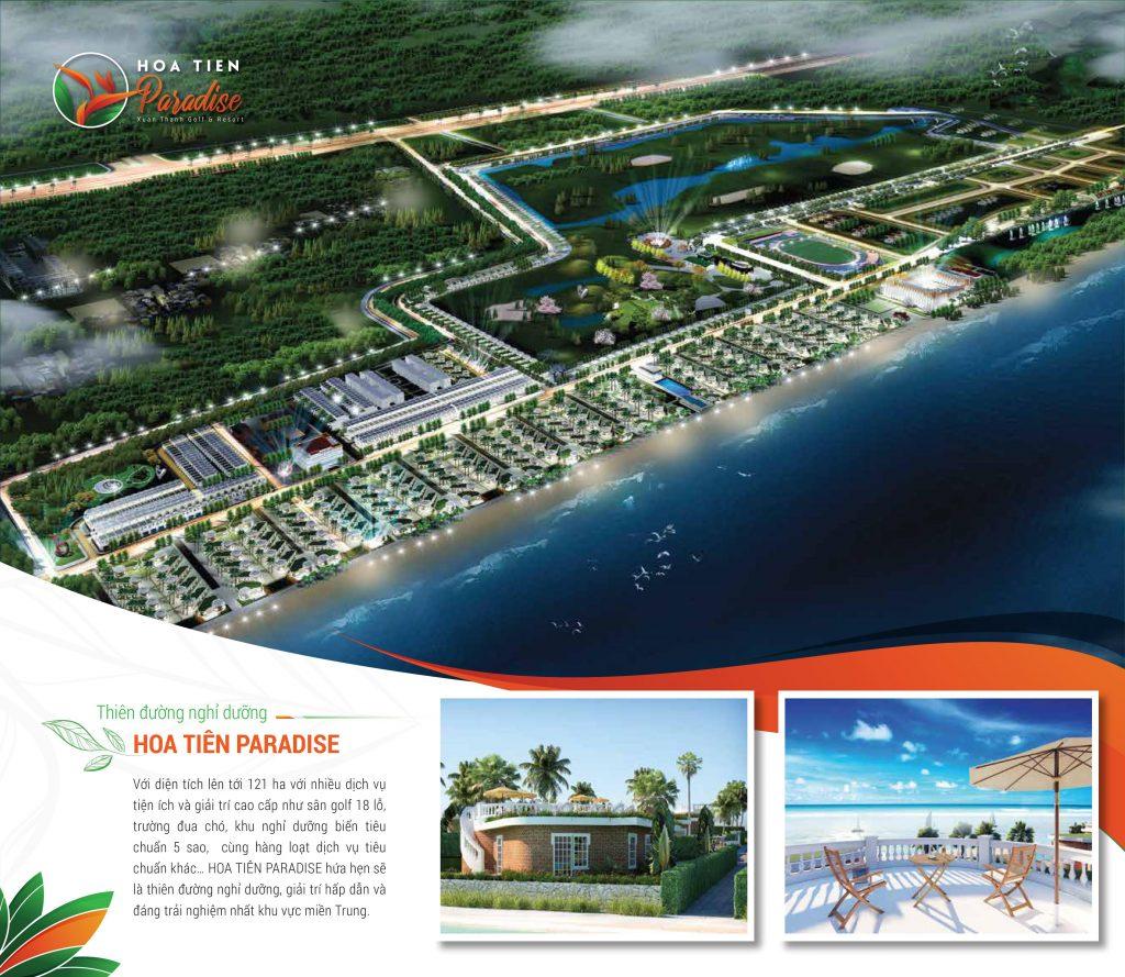 Mặt bằng dự án Hoa Tiên Paradise Hà Tĩnh