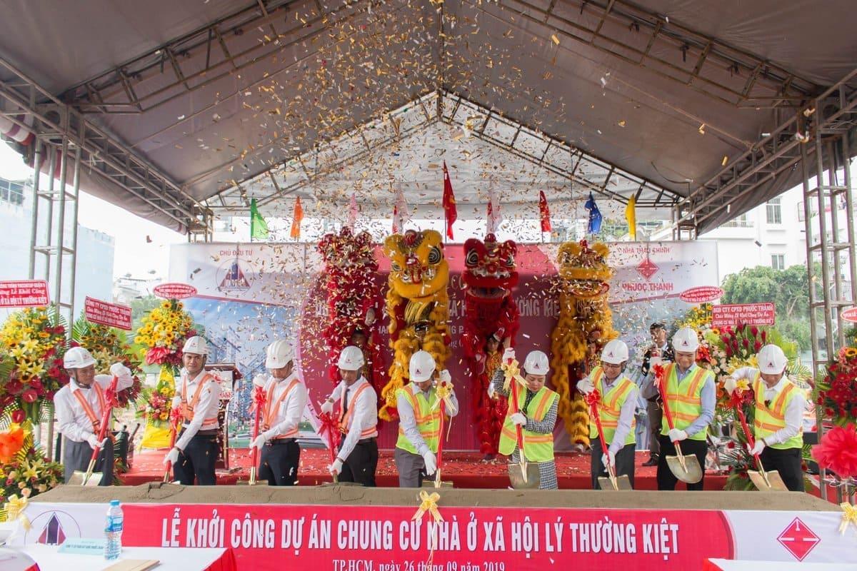 Lễ khởi công chung cư Phú Thọ DMC Quận 10