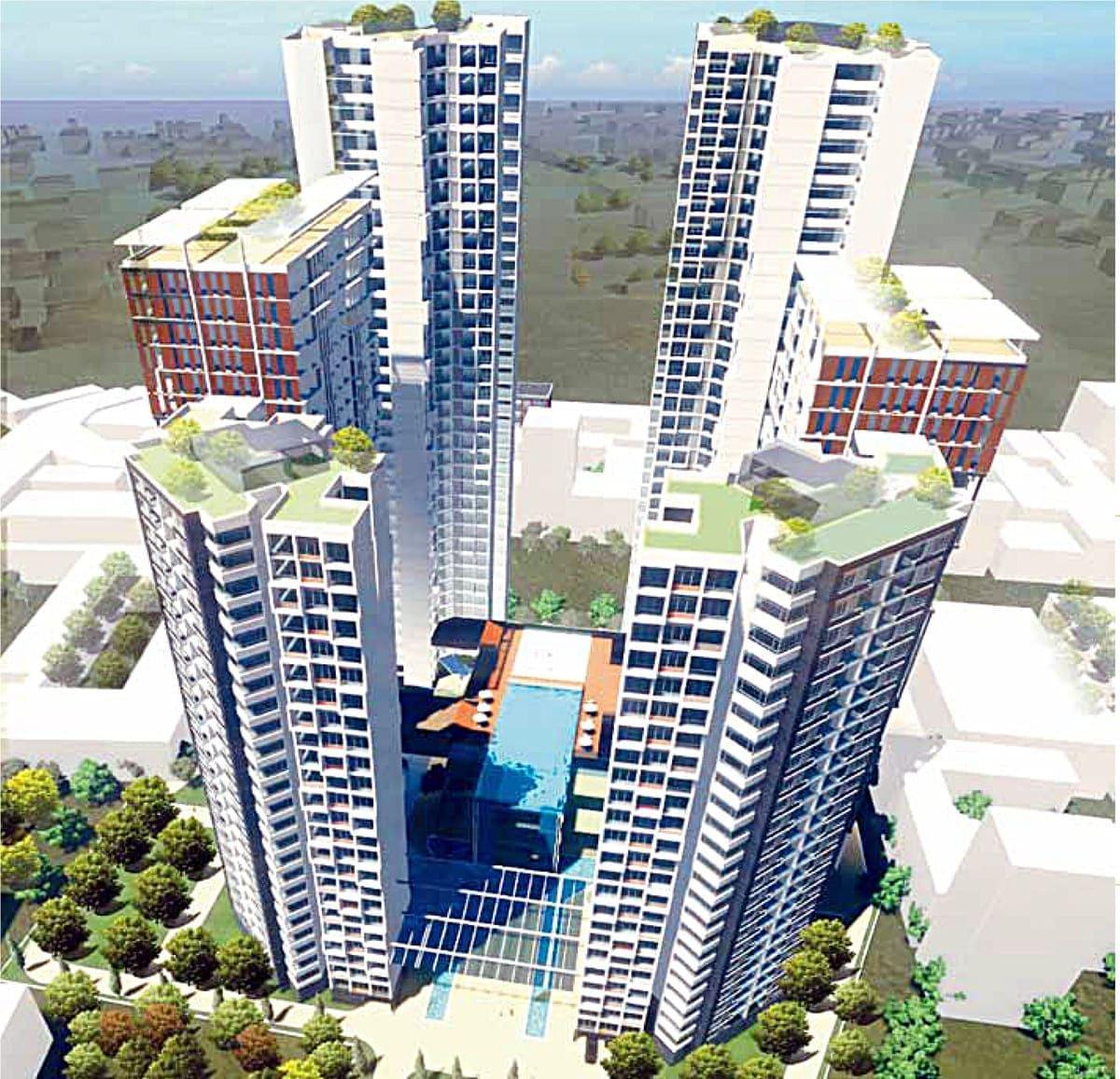 Phối cảnh dự án căn hộ Phú Thọ DMC Lý Thường Kiệt Quận 10