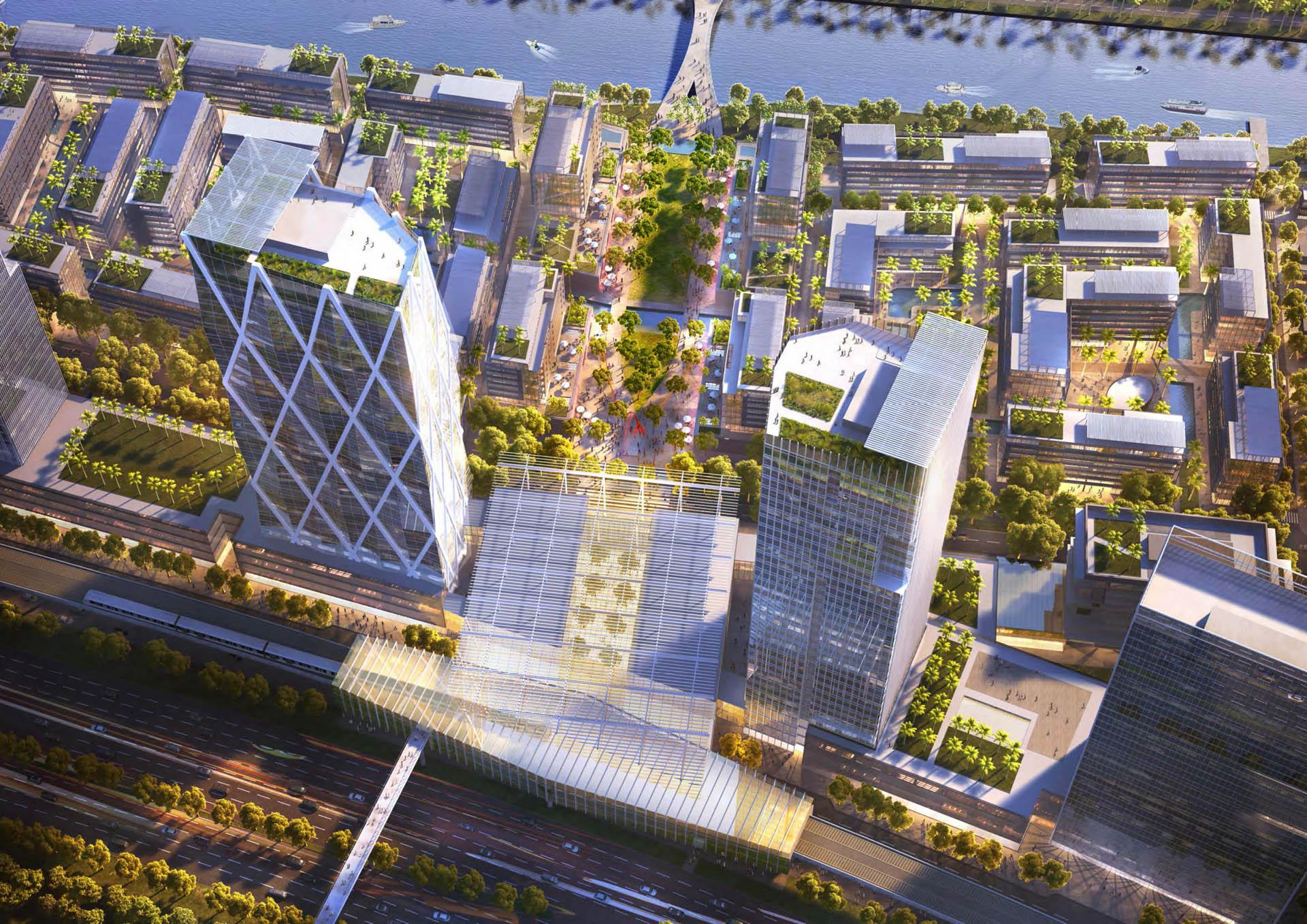 Hình ảnh tổng quan chung cư River City Thủ Đức