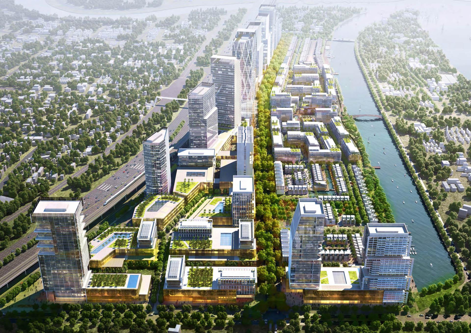 Phối cảnh dự án căn hộ River City Quận Thủ Đức