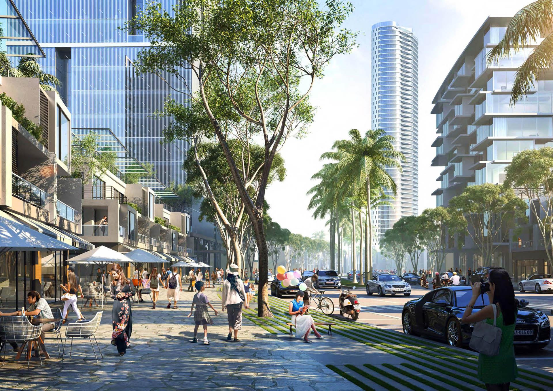 Thiết kế dự án biệt thự River City quận Thủ Đức