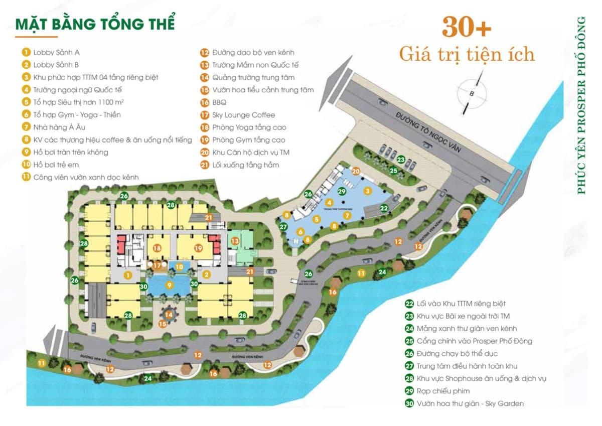 Dự án căn hộ Phúc Yên Prosper Phố Đông, đường Tô Ngọc Vân, Thủ Đức