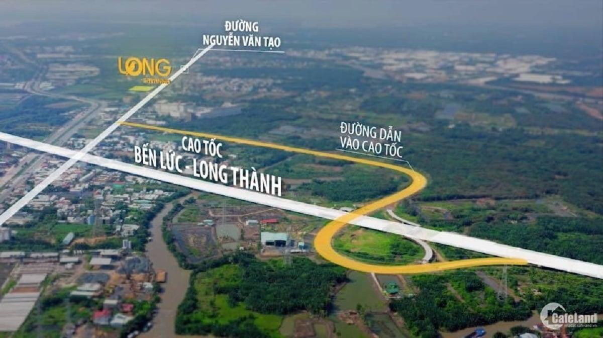 Vị trí dự án Long Savanna huyện Nhà Bè